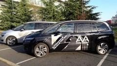 PSA : Sebastien Loeb au volant... d'un Citroën C4 Picasso autonome