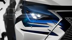 Lexus NX : coup blush manga