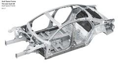 La future Audi A8 montre ses dessous
