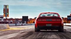 Voici enfin la Dodge Challenger Demon, l'auto la plus folle de ces dernières années