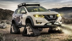Nissan dévoile son Rogue Trail Warrior Project, un SUV à chenilles