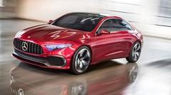 Classe A Sedan Concept : Mercedes met les formes