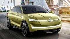Škoda Vision E : 1ers clichés et infos techniques