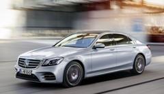 Mercedes Classe S : la version restylée au salon de Shanghai 2017
