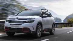 Citroën C5 Aircross : amortisseurs à butées hydrauliques