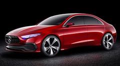Mercedes A Sedan Concept : la prochaine Mercedes Classe A en filigrane