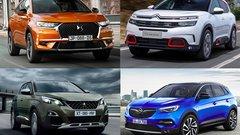 C5 Aircross, DS7, Grandland X, 3008 - Une base commune, quatre SUV : quel est votre préféré ?