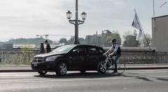 Campagne suisse à l'usage des cyclistes imprudents