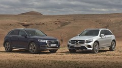 Essai : L'Audi Q5 affronte le Mercedes GLC, le choc des titans