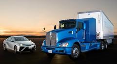 Toyota dévoile un poids lourd à pile à combustible
