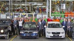 La Skoda Superb passe le cap du million d'exemplaires produits