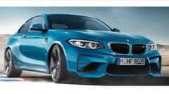 La BMW M2 restylée s'échappe