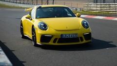 La nouvelle Porsche 911 GT3 boucle un tour de Nürburgring en 7mn 12s