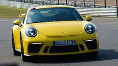 Porsche 911 GT3 : Nouveau record Nürburgring la nouvelle gt3 encore plus rapide