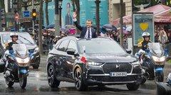 Le président Macron opte pour le DS 7 Crossback comme voiture officielle