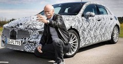 Marc Langenbrinck (Mercedes) roule en Suisse