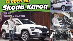 Skoda Karoq (2017) : L'argus.fr déjà à bord du remplaçant du Yeti