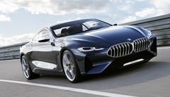 BMW Série 8 concept : Premières photos officielles du coupé