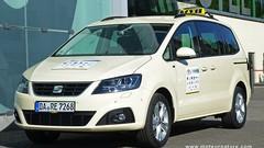 Le Seat Alhambra élu taxi de l'année