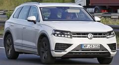 Le futur Volkswagen Touareg réduit son camouflage