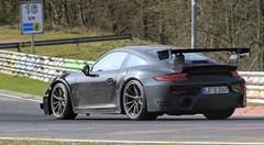 Porsche 911 GT2 RS : Près de 700 chevaux ?