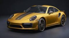 Porsche 911 Turbo S Exclusive Series : dorée sur tranche