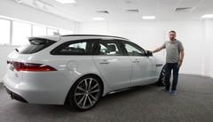 Jaguar XF Sportbrake (2017) : la XF fait le break