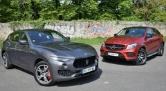 Essai Maserati Levante S vs Mercedes-AMG GLE 43 Coupé : La grosse artillerie