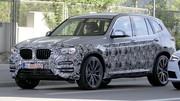 BMW X3 2018 : Dernière sortie camouflée