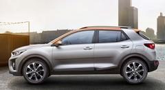 Le petit SUV Kia Stonic passe du dessin aux photos