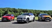 Comparatif vidéo statique : La nouvelle Citroën C3 Aircross face aux Renault Captur et Peugeot 2008