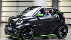 Smart : la Fortwo Cabrio passe à l'électrique