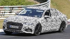 Futures Audi A6 et S6 : en tenue de camouflage au Nürburgring