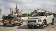 Citroën C3 Aircross vs Renault Captur : duel de SUV urbains en vidéo