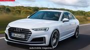 Audi A4 restylée : Un regard plus aiguisé en 2018