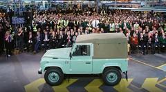 Land Rover : le mythique Defender bientôt de retour