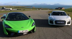 Essai Audi R8 V10 Plus vs McLaren 570S : Choc des cultures