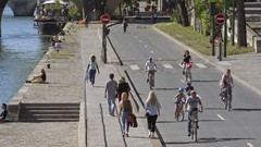 Paris - Malgré des impacts négatifs, les voies sur berges resteront piétonnes, dit le Préfet