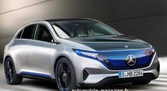 Mercedes EQ-A : Un concept de compacte électrique Mercedes à Francfort