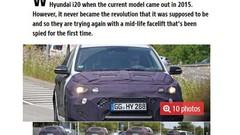 Future Hyundai i20 : Surprise en phase de test
