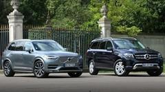 Essai Mercedes GLS vs Volvo XC90 : Les titans
