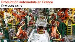 Production automobile en France : état des lieux