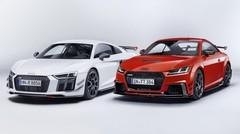 Les Audi R8 et TT RS s'habillent en pistardes grâce aux pièces Audi Performance