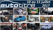 Les titres de l'actualité auto du 10 au 15 juillet 2017