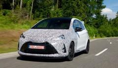 Essai : premières impressions à bord de la future Toyota Yaris GRMN