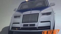 Nouvelle Rolls-Royce Phantom : les premières images en fuite