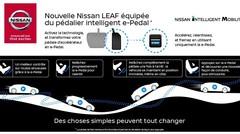 Nouvelle Nissan Leaf : sa pédale d'accélérateur sait aussi freiner