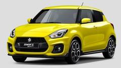 Première image de la nouvelle Suzuki Swift Sport