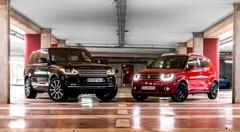 Land Rover Range Rover vs Suzuki Ignis : le duel insolite