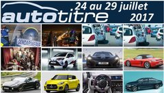 Les titres de l'actualité auto du 24 au 29 juillet 2017